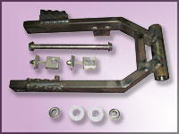 Yamaha TT500 Framer Swing Arm